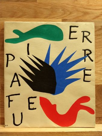Illustrated Book Matisse - Pierre a feu