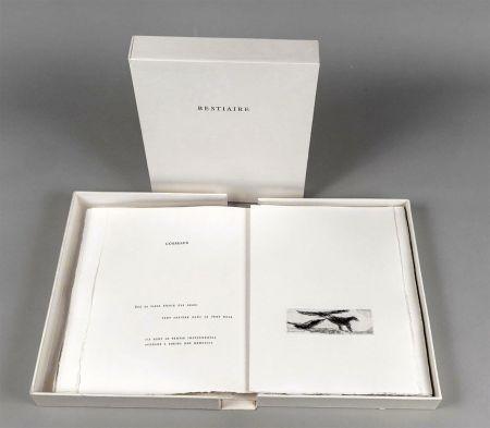Illustrated Book Tal Coat - Pierre Lecuire : BESTIAIRE. 35 eaux-fortes et pointes sèches de Tal Coat.