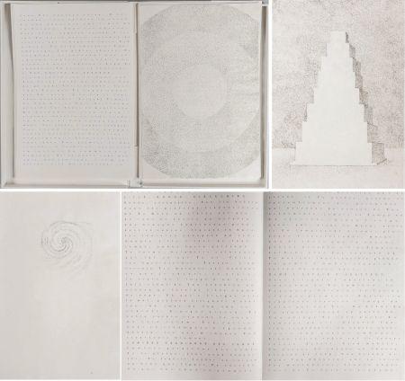 Illustrated Book Pagava - Pierre Lecuire : POÈMES MÉTAPHYSIQUES. 7 pointes sèches de Véra Pagava (1979) (1975)