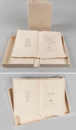 Illustrated Book Aguayo  - Pierre Lecuire : SONNETS FUNÈBRES. 12 gravures de Femin Aguayo (1975)