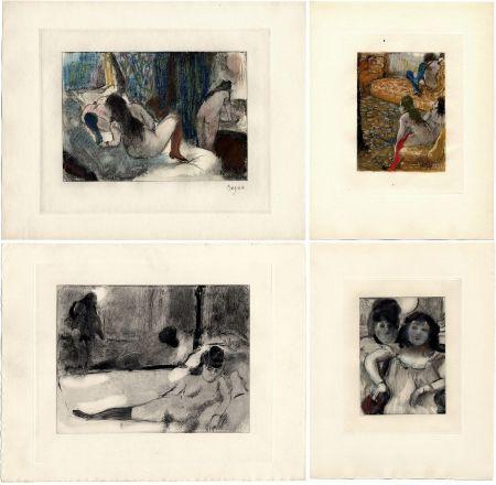Illustrated Book Degas - Pierre Louys : MIMES DES COURTISANES (Vollard, Paris 1935)