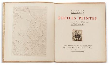 Illustrated Book Derain - Pierre Reverdy :  ÉTOILES PEINTES. Avec une eau-forte originale de André Derain (1921)