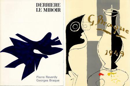 Illustrated Book Braque - PIERRE REVERDY, GEORGES BRAQUE. DERRIÈRE LE MIROIR n° 135-136. Déc.1962-Janv.1963.