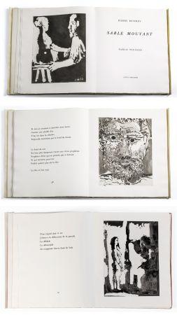 Illustrated Book Picasso - Pierre Reverdy: SABLE MOUVANT. 10 aquatintes originales (1966).