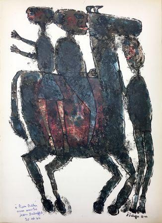 Illustrated Book Dubuffet - Pierre Seghers : L'HOMME DU COMMUN ou Jean Dubuffet (1944).