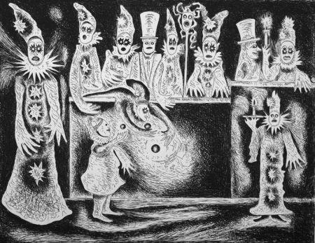 Engraving Haz - Pierrots