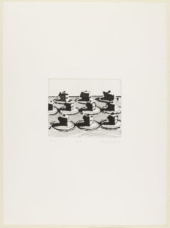Etching And Aquatint Thiebaud - Pies