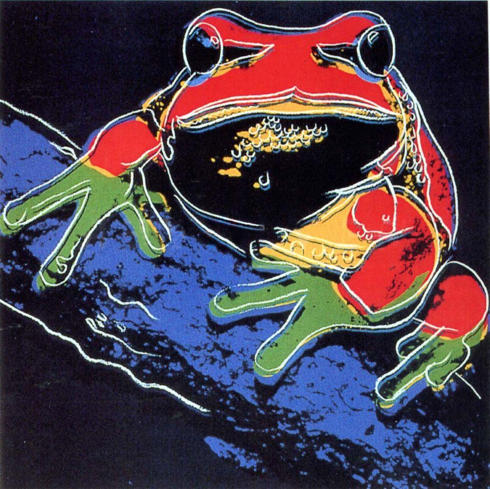 Screenprint Warhol - Pine Barrens Tree Frog (FS II.294)