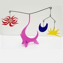 No Technical Calder - Pink Elephant