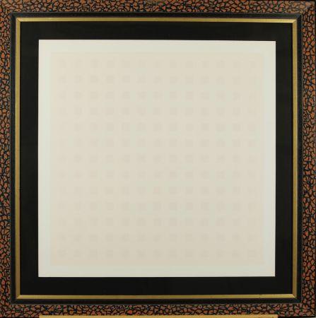 Screenprint Calderara - Pink squares
