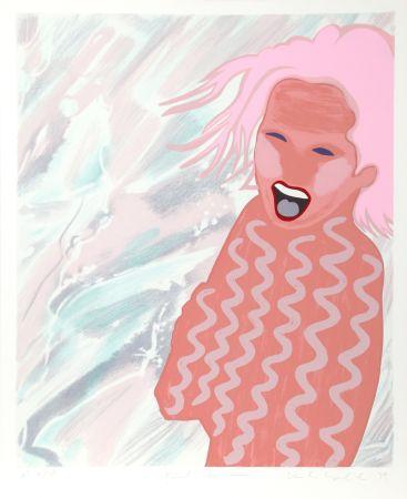 Screenprint Kogelnik - Pink Swim