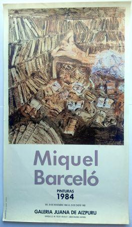 Poster Barcelo - Pinturas 1984