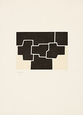 Etching And Aquatint Chillida - Pittsburgh Ii