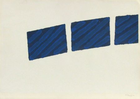 Screenprint Pinelli - Pittura R, (a)