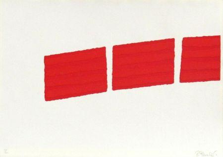 Screenprint Pinelli - Pittura R (b)