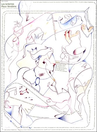 Lithograph Voss - Placard Handke