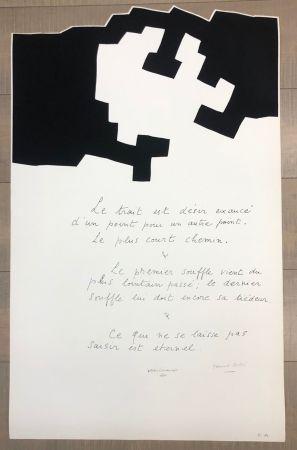Screenprint Chillida - Placard Jabes