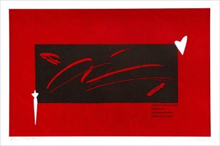 Lithograph Kuroda - Placard Kobayashi