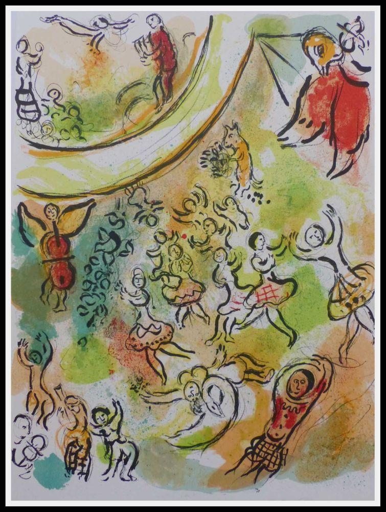 Lithograph Chagall - PLAFOND DE L'OPERA GARNIER