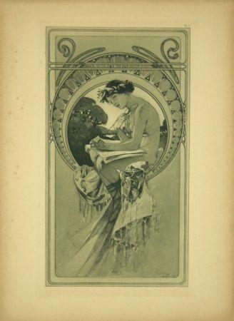 Lithograph Mucha - Planche  7   Documents décoratifs