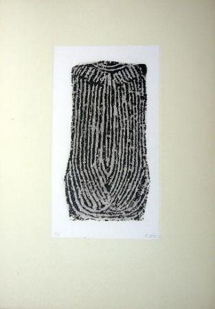 Engraving Ubac - Planche de la suite proximité du murmure