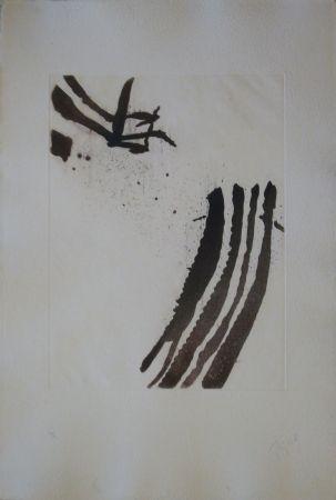 Etching And Aquatint Tal Coat - Planche de l'almanach