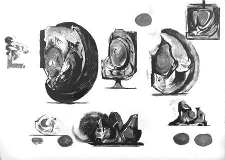 Lithograph Sutherland - Planches d'études