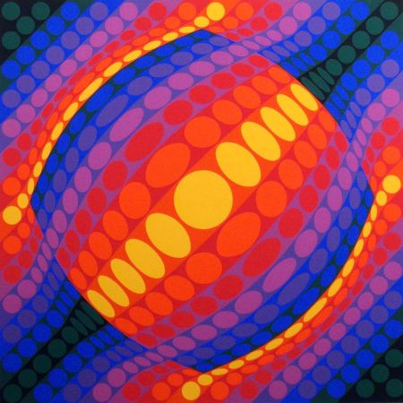 Multiple Vasarely - Planeta