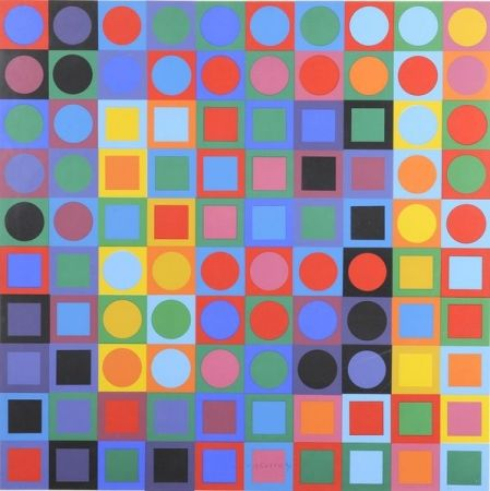 No Technical Vasarely - Planetory Folklore Participation