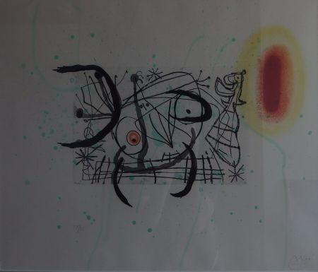 Etching Miró - Plate 11