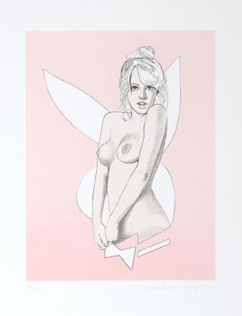 Lithograph Ramos -  Playboy Bunny