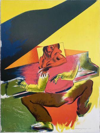 Lithograph Jones - Playtime