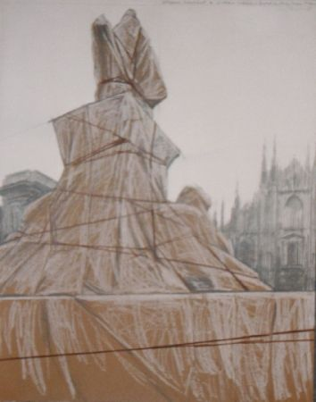 Multiple Christo - Plazza del duomo Milan