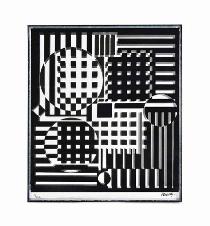 Multiple Vasarely - Pleionne