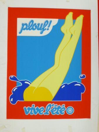 Screenprint Hauss - Plouf !