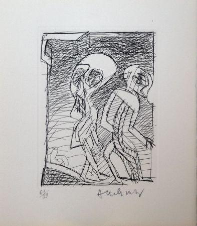 Engraving Alechinsky - Poèmes à peine poèmes