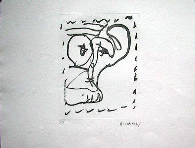 Engraving Alechinsky - Poèmes à voir