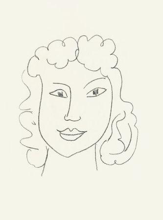 Lithograph Matisse - Poésies antillaises