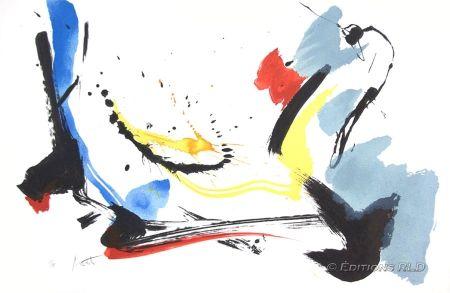 Lithograph Miotte - Poétique
