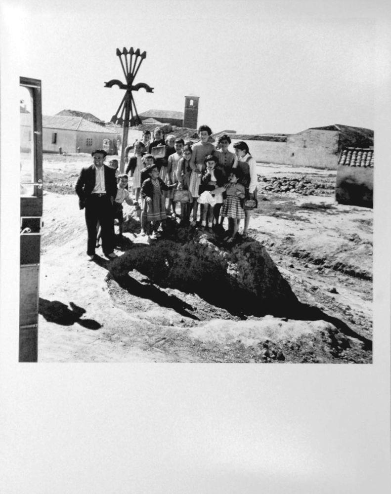 Photography Català-Roca - Poble de la província de Conca, 1954