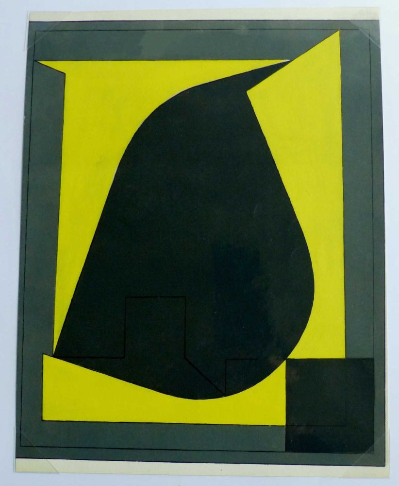 Pochoir Vasarely - POCHOIR N° 10