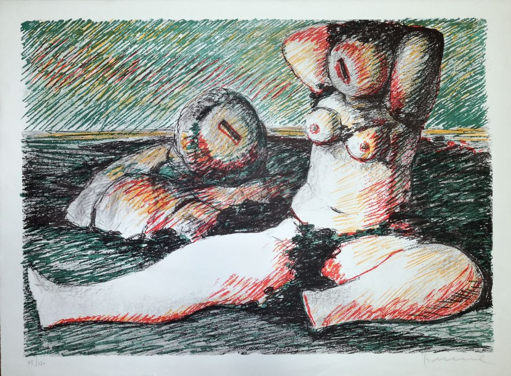 Lithograph Fiume - Poesia d'amore