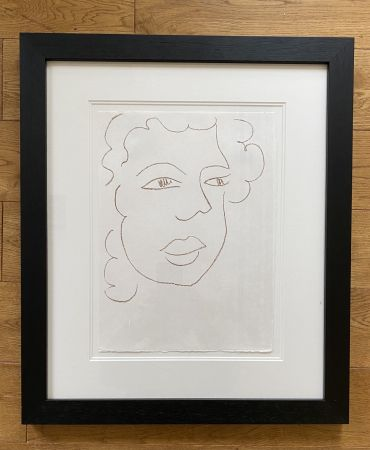 Lithograph Matisse - Poesies Antillaises - Number J.7