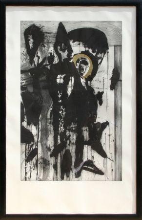 Etching And Aquatint Paladino - Poeta Occidentale - Triptych #2