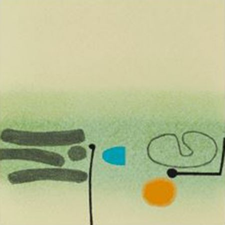 Screenprint Pasmore - Points of Contact 32