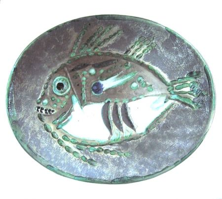 Ceramic Picasso - Poisson chiné