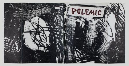 Woodcut Lichtenstein - Polemic