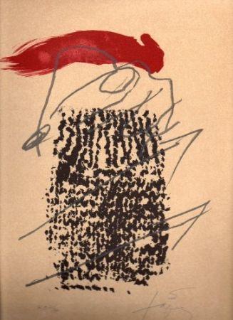 Lithograph Tàpies - Poligrafa XV Anys
