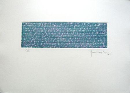 Etching Hernandez Pijuan - Polychrome 5