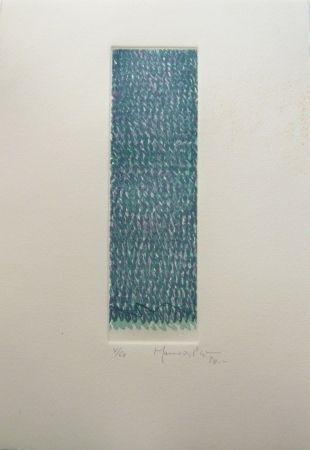 Etching Hernandez Pijuan - Polychrome 8